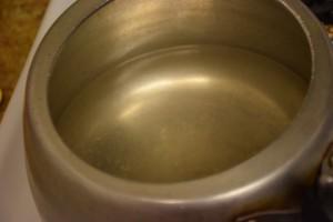 after rolling boil