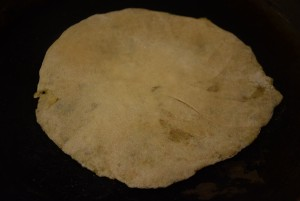 rolled parantha