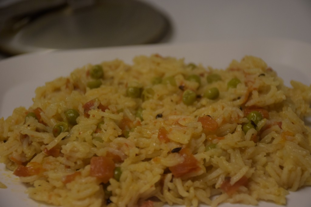 sizzling Pulao