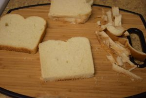 edges of breads