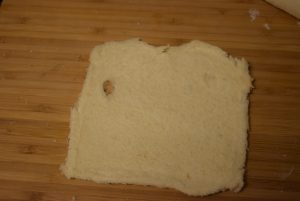 hole in bread