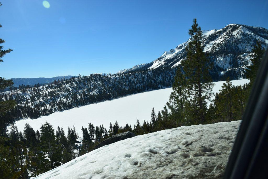 Frozen Lower Velma Lake