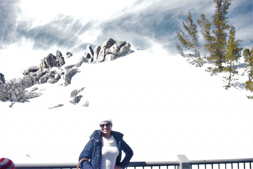 Snow-clad peaks