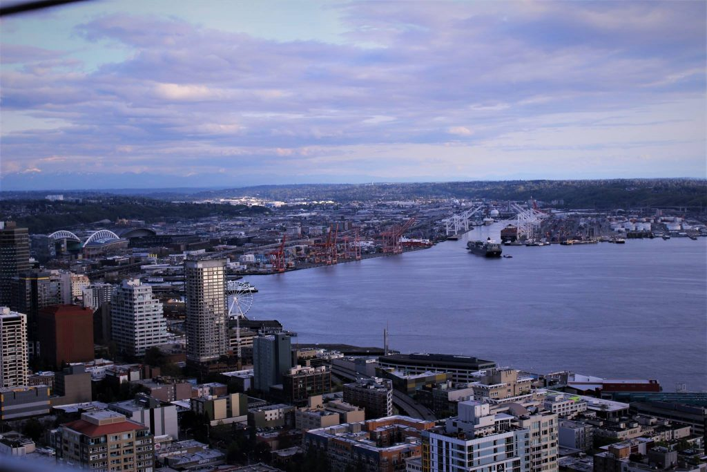 Seattle's skyline view