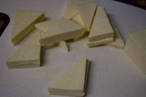 paneer slices