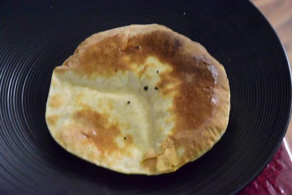 1st tandoori roti